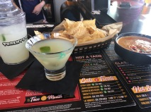 Margarita and Apps